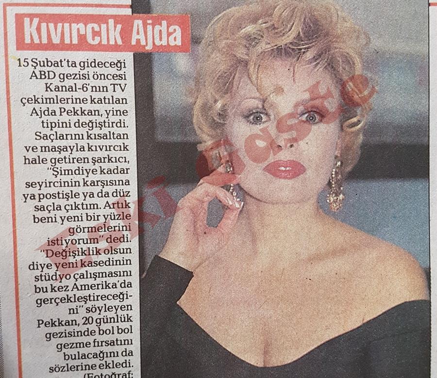 Kıvırcık Ajda Pekkan