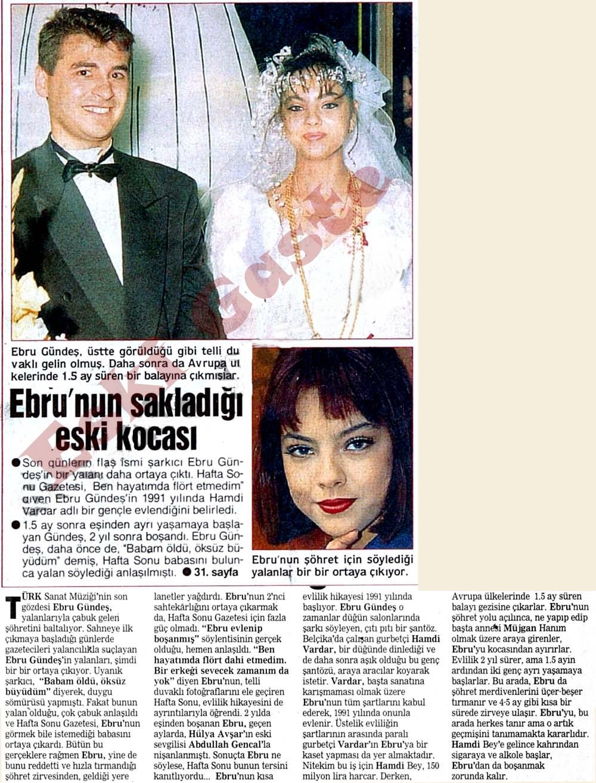 Ebru Gündeş'in sakladığı eski kocası Hamdi Vardar