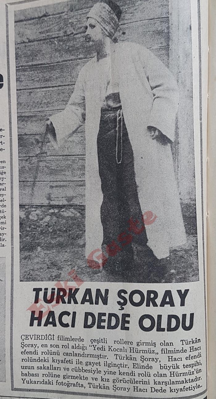 Türkan Şoray hacı dede oldu