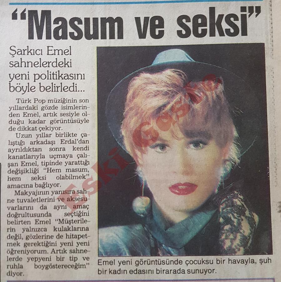 Masum ve Seksi: Emel Müftüoğlu