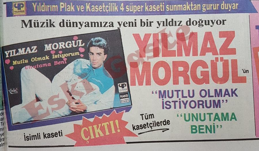 Yılmaz Morgül'ün ilk kasedi