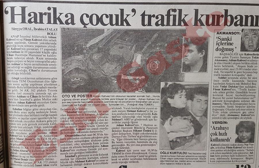 """""""Harika çocuk"""" trafik kurbanı! Adnan Kahveci kimdir?"""