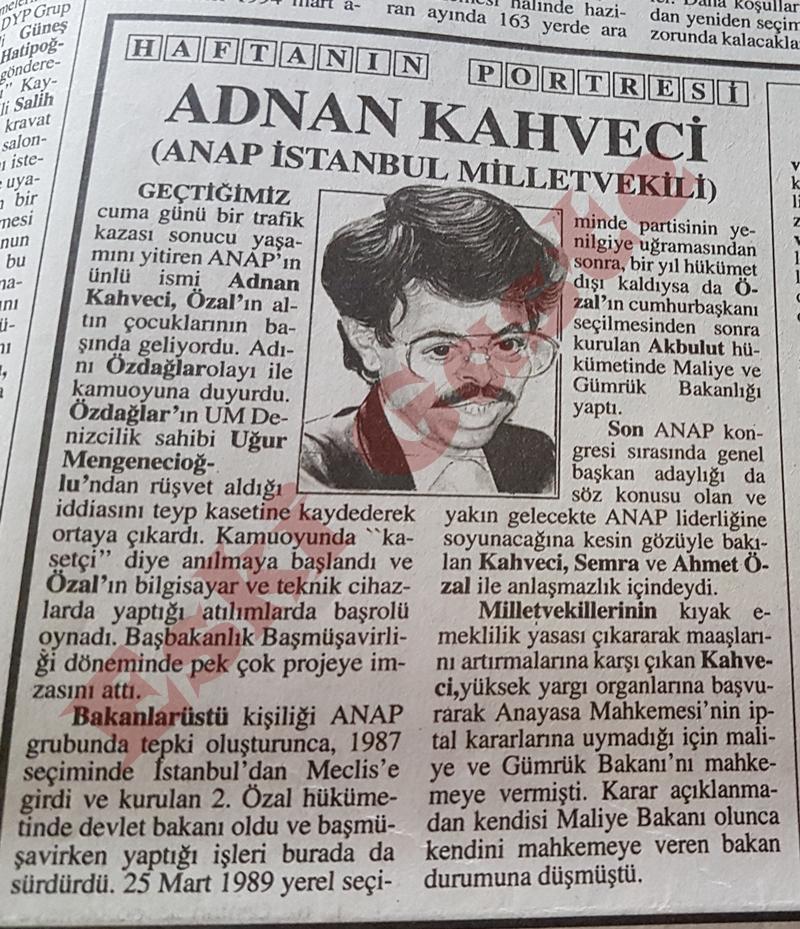 Adnan Kahveci kimdir? Haftanın Portresi