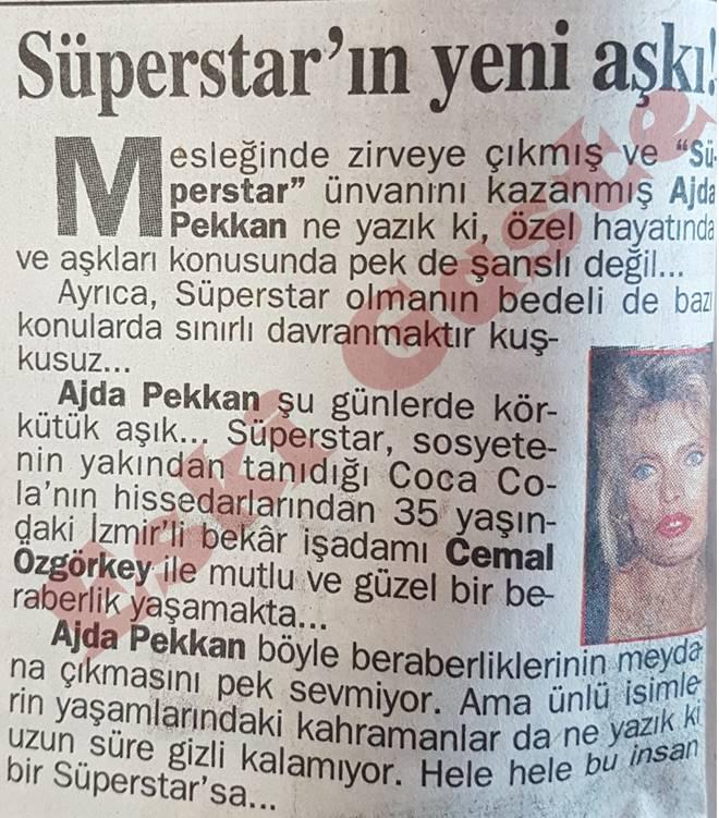 Ajda Pekkan'ın yeni aşkı Cemal Özgörkey