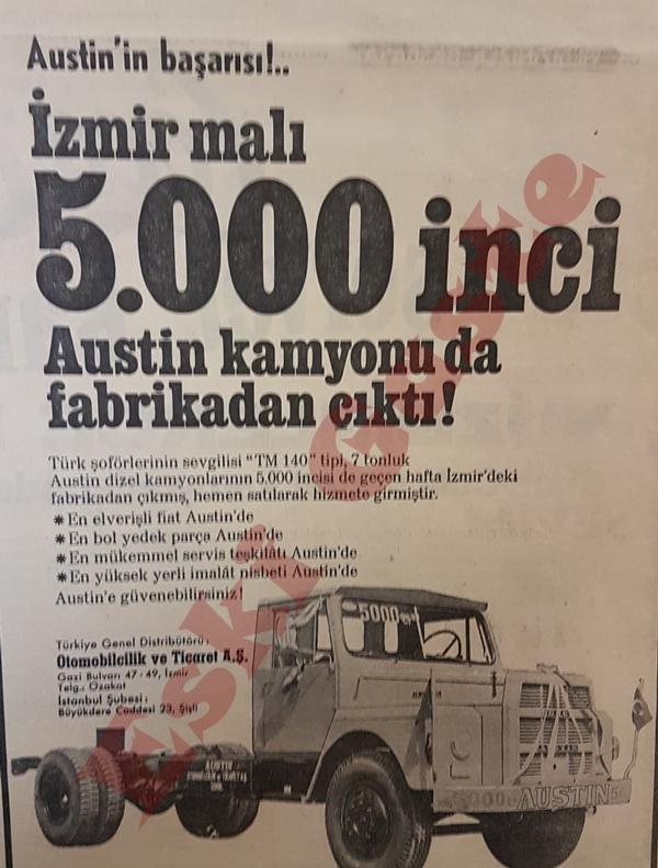 Austin kamyon reklamı