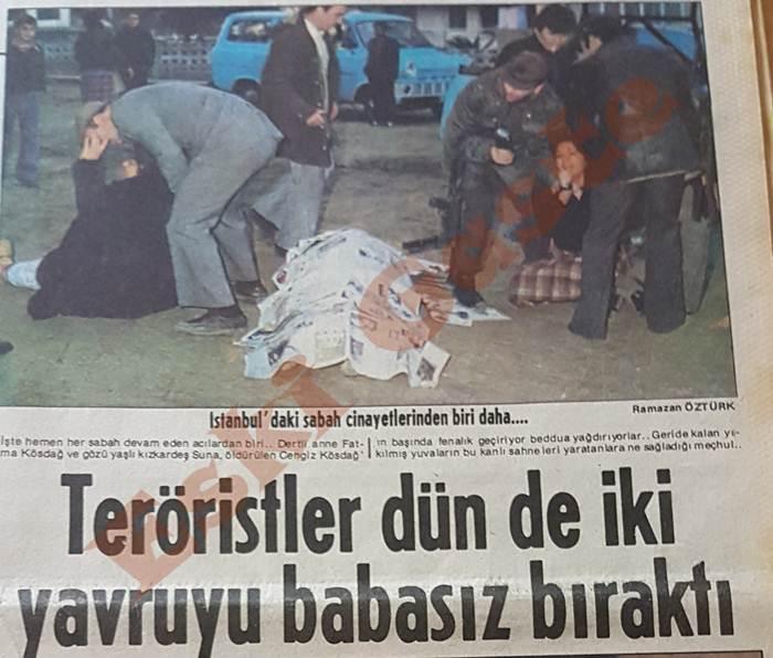 Cengiz Kösdağ öldürüldü