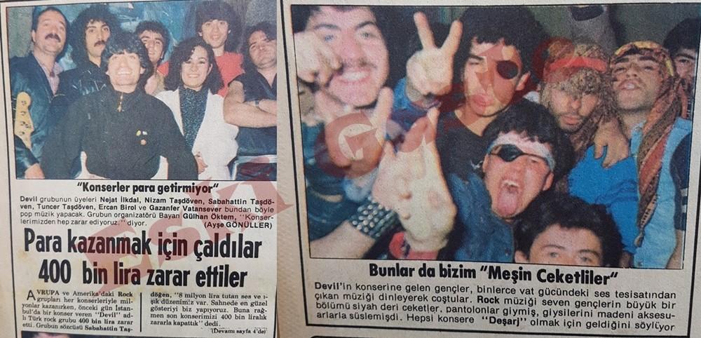 Devil grubu konserde 400 bin lira zarar etti