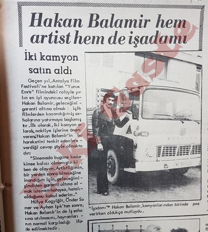 Hakan Balamir hem artist hem de işadamı