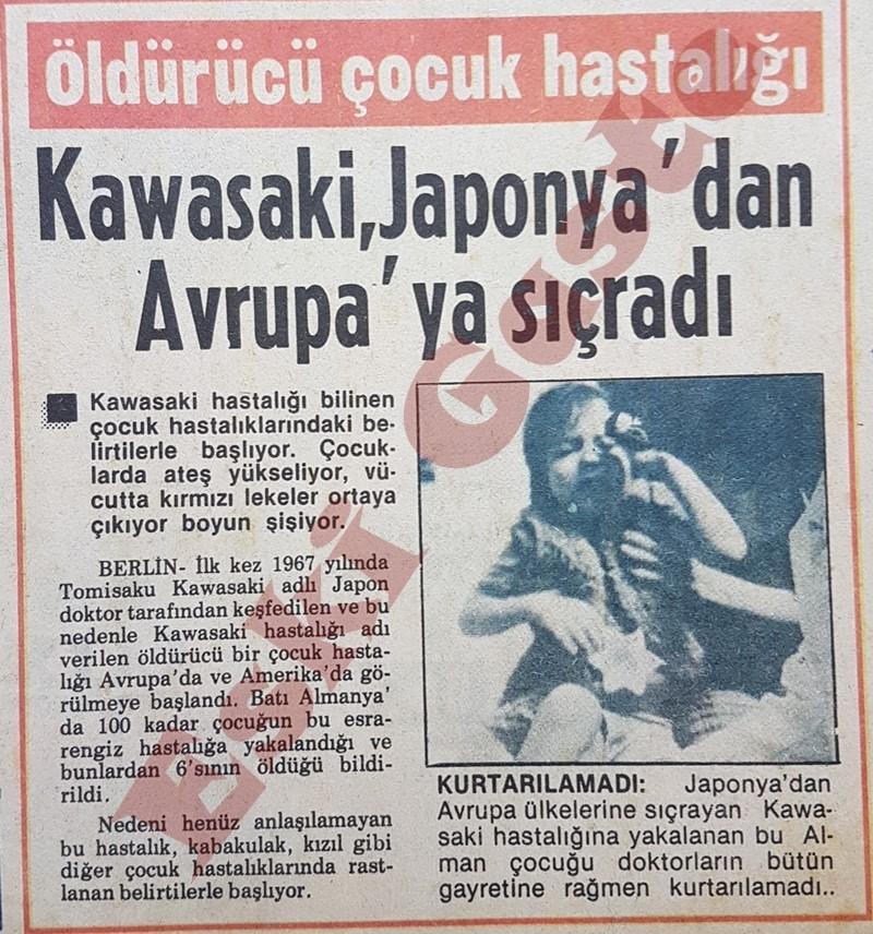 Kawasaki hastalığı Japonya'dan Avrupa'ya sıçradı