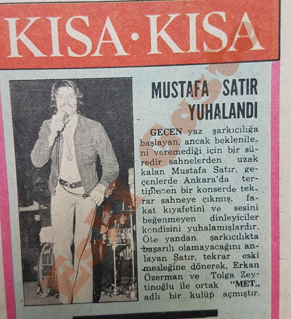 Mustafa Satır yuhalandı