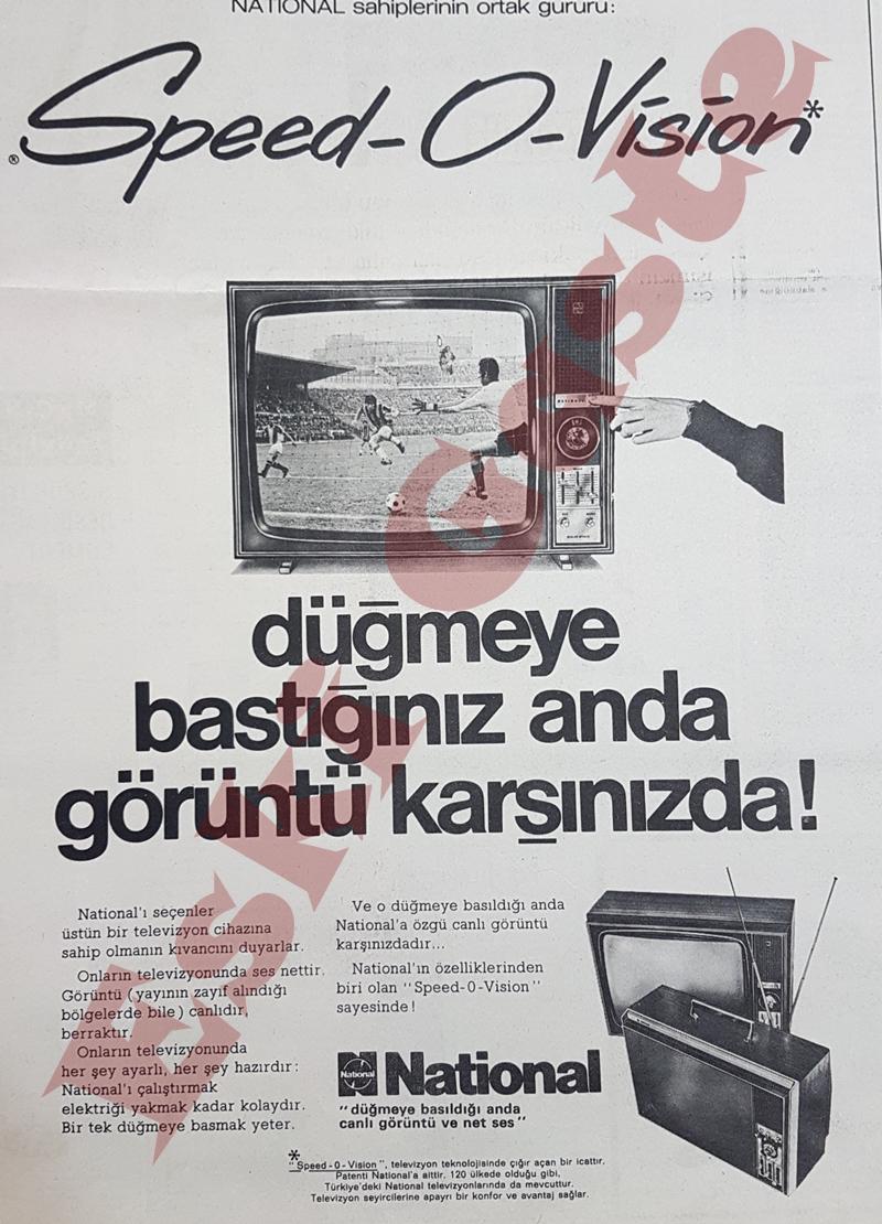 National televizyon reklamı