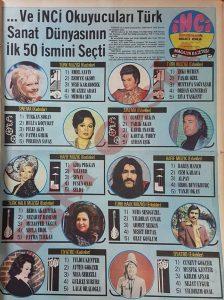 1974 En İyi Sanatçılar