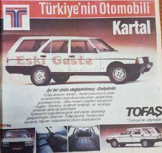 TOFAŞ Kartal reklamı – 1988
