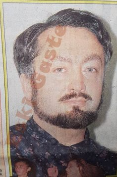 Adnan Oktar'ın 1989 yılındaki fotoğrafı