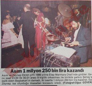 Asım Ekren - Eski Fotoğraflar