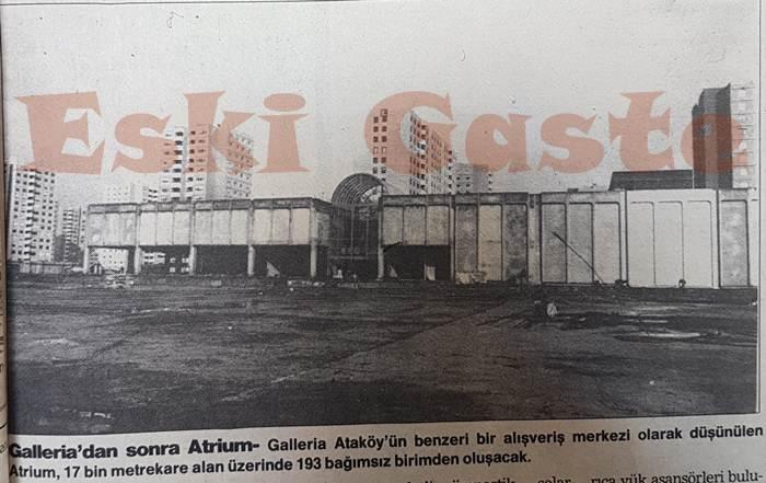 Atrium inşaatı