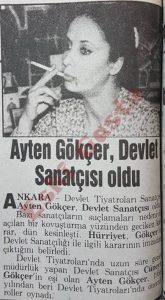 Ayten Gökçer - Eski Gazeteler