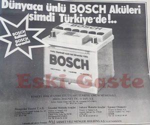 Bosch Akü Reklamı - Eski Reklamlar