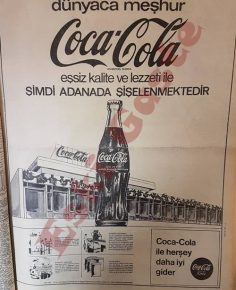 Coca-Cola Adana reklamı