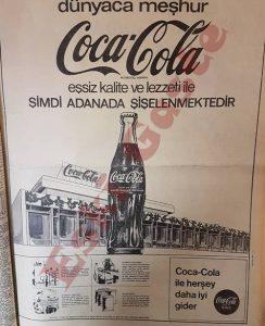 Coca Cola Reklamı - Adana - Eski Reklamlar