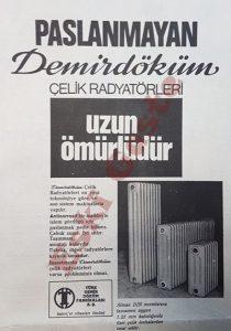 Demirdöküm Radyatör Reklamı