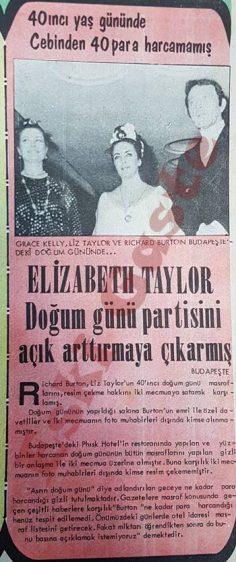 Elizabeth Taylor doğum günü partisini açık arttırmaya çıkarmış