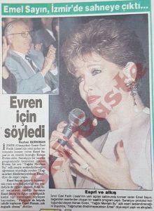 Emel Sayın - Eski Gazeteler