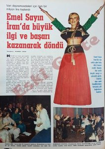 Emel Sayın İran Konseri