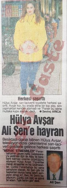 Hülya Avşar Ali Şen'e hayran