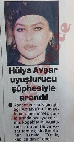 Hülya Avşar uyuşturucu şüphesiyle arandı!