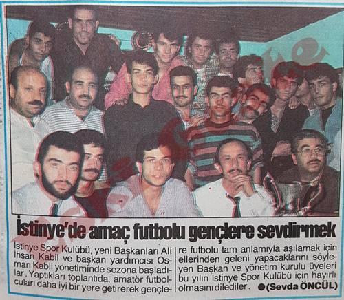 İstinye'de amaç futbolu gençlere sevdirmek