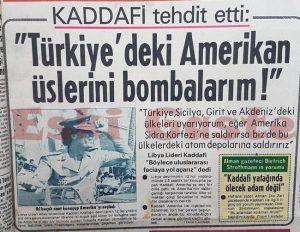 Kaddafi 1981