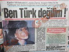 Leyla Zana yemin töreni öncesi: Ben Türk değilim