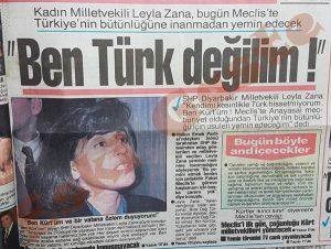 Leyla Zana Yemin Töreni