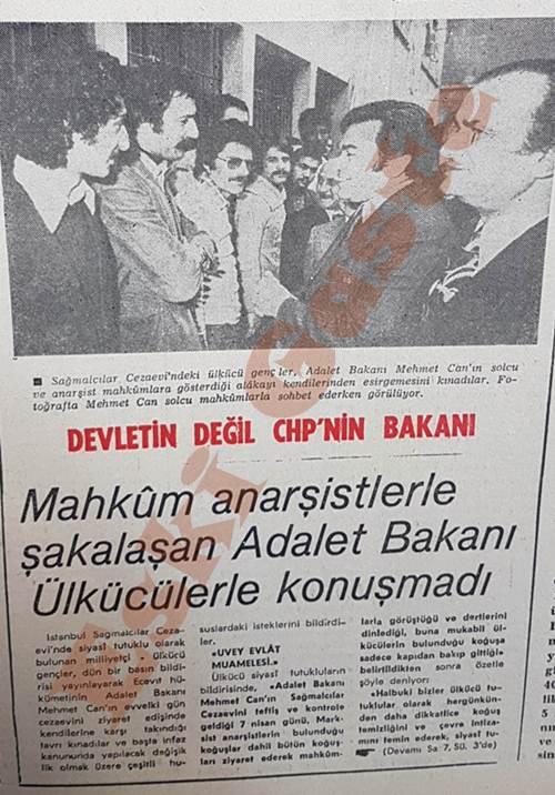 Devletin değil CHP'nin bakanı Mehmet Can