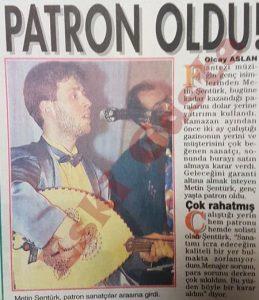 Metin Şentürk - Eski Fotoğraflar