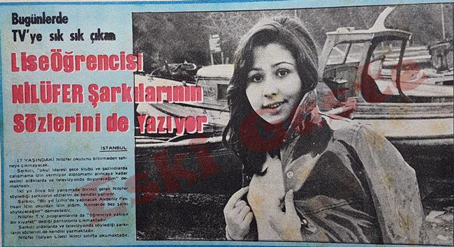 Lise öğrencisi Nilüfer şarkılarının sözlerini de yazıyor
