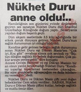 Nükhet Duru - Eski Gazeteler
