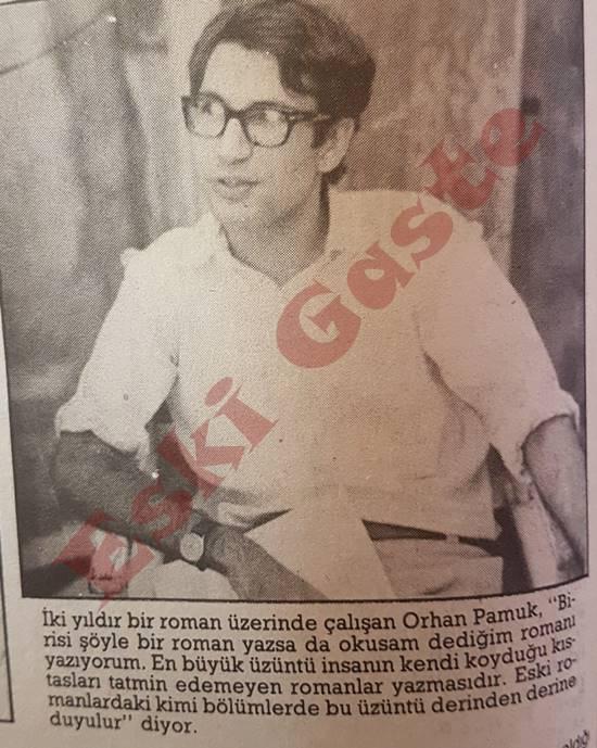 Orhan Pamuk yeni romanını anlatıyor