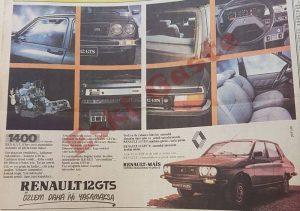 Renault 12 GTS Reklamı