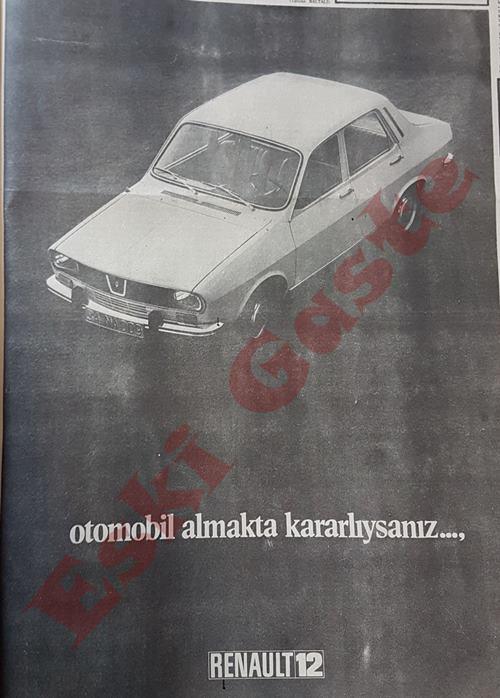 Renault 12 reklamı