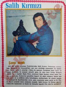 Salih Kırmızı - 1974