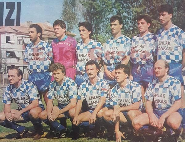 Sarıyer takımının 1994 kadrosu