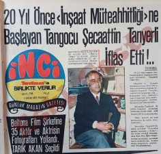 Tangocu Şecaattin Tanyerli iflas etti