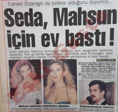 Seda Sayan Mahsun Kırmızıgül için ev bastı