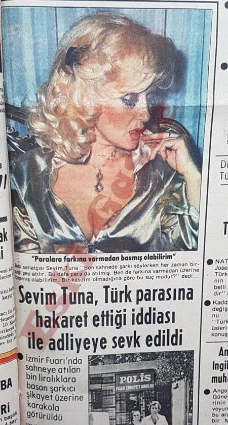 Sevim Tuna Türk parasına hakaret ettiği iddiası ile adliyeye sevk edildi