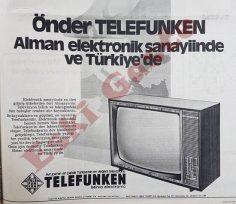 Telefunken televizyon reklamı