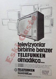 Telefunken Reklamı - Eski Reklamlar