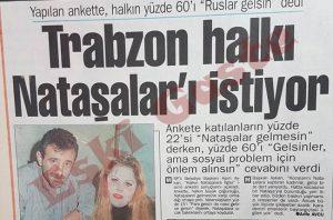 Trabzon - Nataşalar