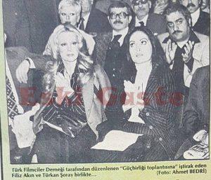 Türkan Şoray ve Filiz Akın - Eski Fotoğraflar